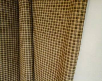 Fabric for patchwork and stitching Plaid