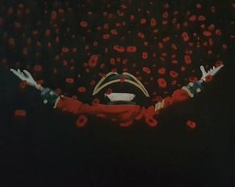 Limited Edition Giclée Print 'Poppy Cascade'