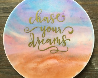 Resin Art - Chase Your Dreams
