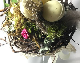 quilting Easter nest