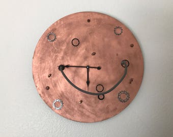 Out of Time Steampunk Moon Art