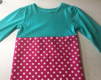 Long sleeved t-shirt dress