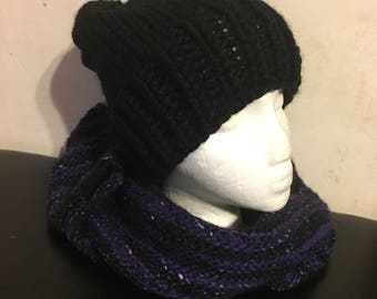 Not So Basic Black Knit Hat