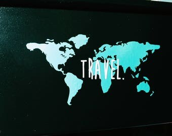 World Travel Decal