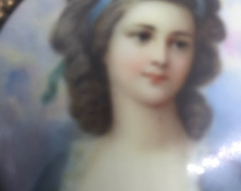Outstanding Rococo Late Baroque Ormolu Box Features Hand Painted Miniature Portrait