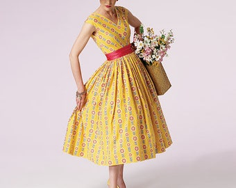 custom make 50s inspired dress