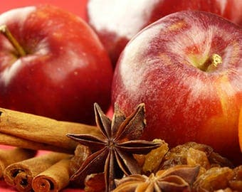 Apple Cinnamon Scented Candle