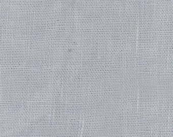 Lin enduit gris bleuté vendu a la coupe a partir de 25cm