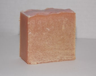 Rose scented goat milk  bath soap
