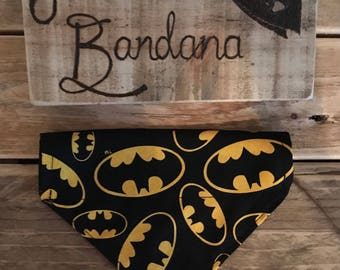 Batdog Superhero Bandana