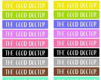 The Good Doctor Tv Show Header (D138)