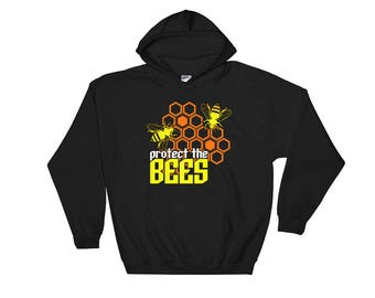 Protect The Bees Hooded Sweatshirt