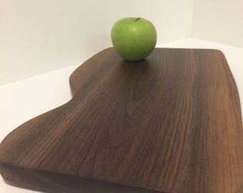 Black walnut charcuterie board/ serving board
