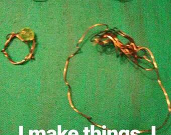 Guitar String Bracelets & Rings. UniqueAccessories