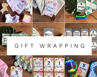Gift wrap any item