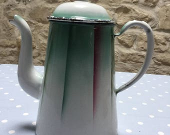 Deco ish patterned coffee pot