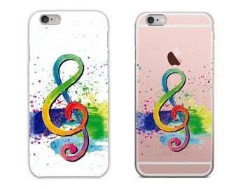 Music Galaxy Phone Case, iPhone 6S Plus, iPhone 7 Case, iPhone 8 Plus, iPhone X, Samsung Galaxy S8 Case, Samsung Galaxy S7