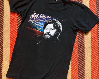 1983 Vintage Bob Seger The Distance Tour T-Shirt
