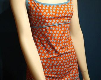 """Dresses """"EVELYN"""" Sun-bathing short - polka dot pattern"""