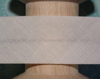 COUPON - 37 cm - ecru stitching through - 304 51-