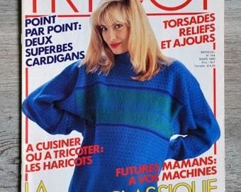 Knitting Selection 164 Magazine - March 1990