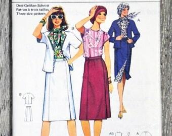 Pattern sewing Burda 50296 - set Lady (Vintage)