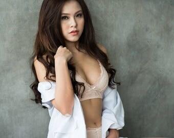 Milk White Lace Bralette