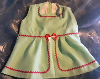 little green dress size 1 year