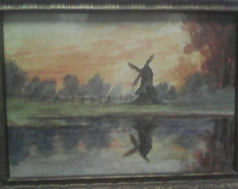2 extremely rare watercolor  by p,Gautier.