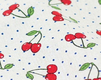 Printed linen fabric Etsy