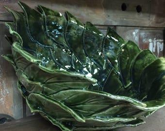 Leaf bowl
