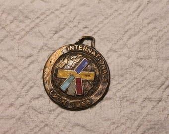 Commemorative Medal Foire International Lyon 1958 4-13 April 1959