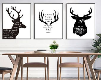 Paint by number/ Elk Paint by number kit/ Elk Painting/ Elk Wall Art/ Elk Art/ Hand Paint Elk / Home Decor/ Gift for her/ Gift for him
