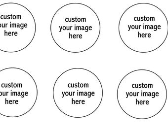 Custom Your Personal Image Edible Image Cupcake Topper Frosting Icing Sheet Circles