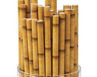 Tiki Paper Straws (Pack of 25)
