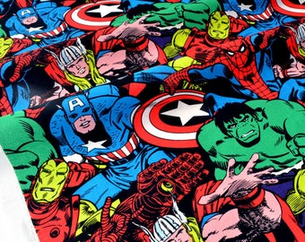 American fabric superhero marvel x 50cm