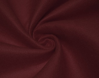 Charlotte BURGUNDY  Acrylic Felt Fabric by the Yard - Style 3003