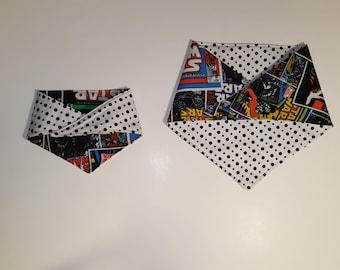 Dog Bandana~ Reversible, Multiple Prints, Machine Washable