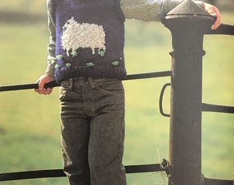 PDF Knit Children Vest I