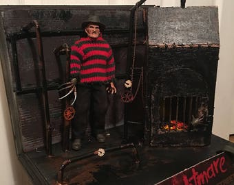 A nightmare on elm street diorama