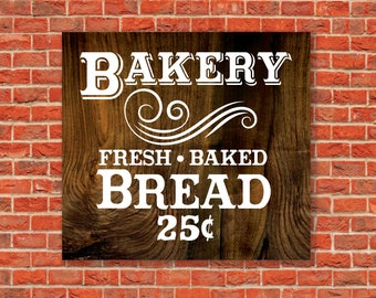 Bakery Sign, Magnolia Farms SVG, Joanna Gaines Vector, Magnolia Market Sign, Stencil, Cuttable, SVG, Vinyl, Sticker, Print, Cut File