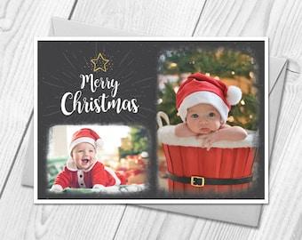 Personalised Photo Christmas Cards | Postcards | Merry Xmas Festive Season Cards