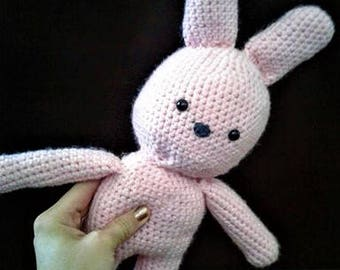 Crochet Bunny friend/ gift for child/ kids toy