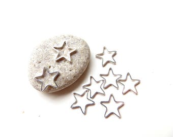 20 round ring Silver Star 11mm