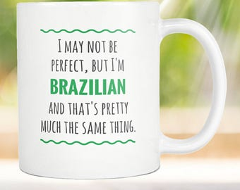 Cool Brazilian Mug Brazil Gift Brazilian Gift Brazilian Pride Brazilian Gift for Brazilian American Brazilian Mom Gift Brazilian Dad Gift