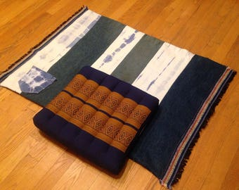 Meditation Rug With Cushion Sold As A Set