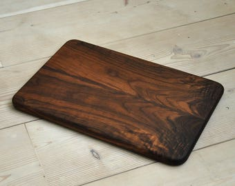 Mirror-Image Walnut Serving Board