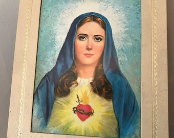 Mary Sacred Heart picture