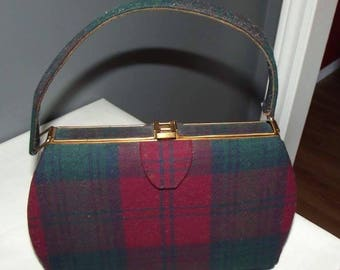 Vintage Scottish Handbag