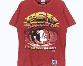 Vintage Florida State University T-shirt Florida State University Nice Design